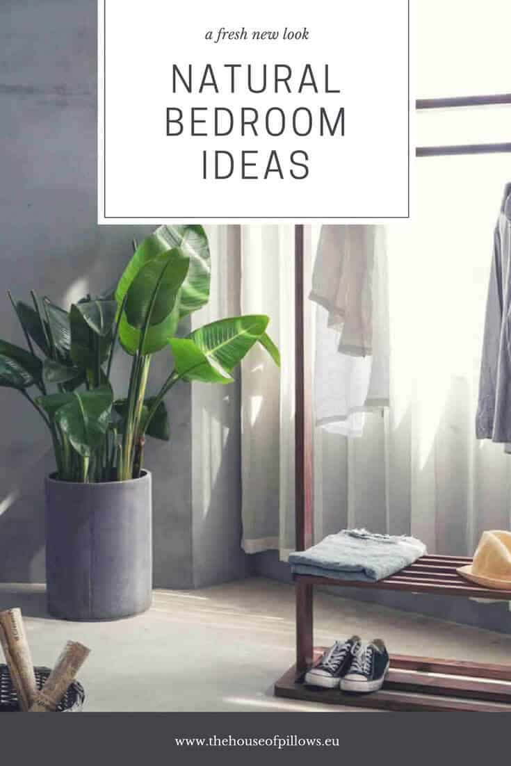 Natural Bedroom Ideas That Aren T All Green The House Of Pillows